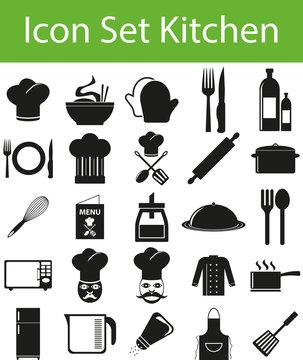 Icon Set Kitchen