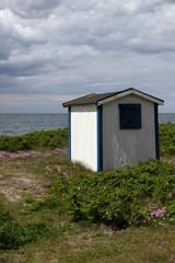 Badehütte am Öresund