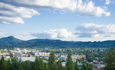Eugene Summer Skyline