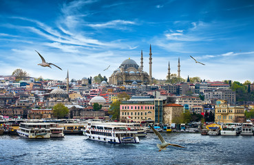 Photo sur Toile Turquie Istanbul the capital of Turkey, eastern tourist city.
