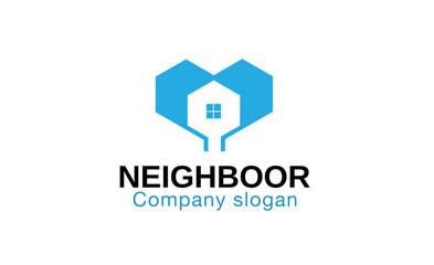 Neighboor Logo template