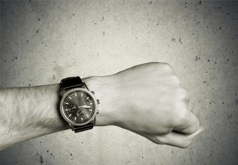 Watch, Wristwatch, Human Hand.