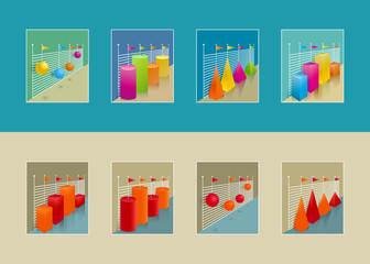 Set of graphs for repots oe presentation