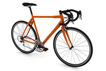 isolated bike.