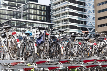 Parking for bicycles