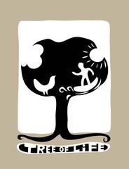 Tree of Life, art vector design