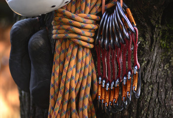 Safety Equipment for Climbing