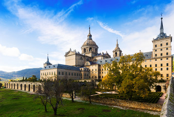 El Escorial. View of Royal Palace