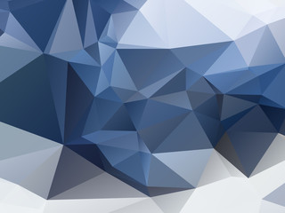 Blue Triangular Triangle Background