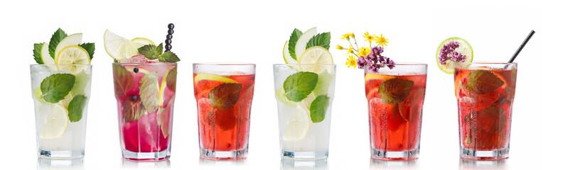 Mojito cocktails set