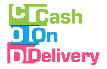 COD - Cash On Delivery Colorful Stripes