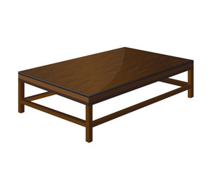 vector  wooden tables design