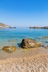Beach in the Adriatic Sea on the island of Hvar