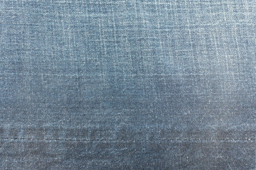 Detail of Blue denim jean texture and background