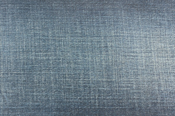 Detail of Blue denim jean texture and seamless background