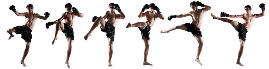 Kickboxing, thai, boxing.