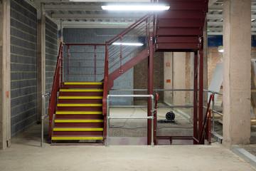 Sparse Industrial Interior