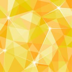 輝く幾何学模様の背景