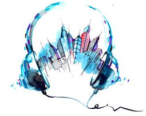 sounds of city