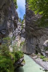 Aare Gorge in Switzerland