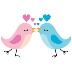 Kissing Love Birds