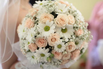 Bunch of wedding flowers