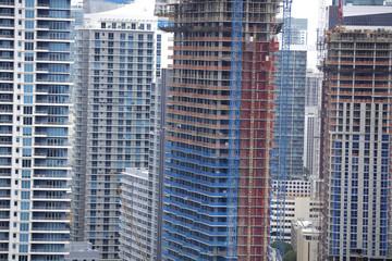 Aerial image of Brickell Miami