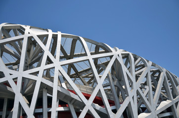 Photo sur Toile Stade de football The Beijing National Stadium