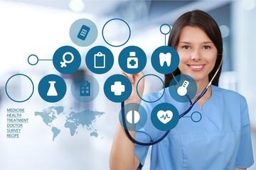 Nurse, Healthcare And Medicine, Doctor.