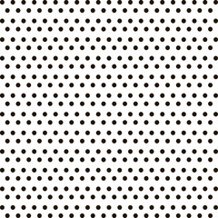 Small black polka dot background