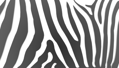 Zebra Stripes rendered