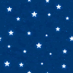 Seamless night sky background
