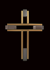 Modern Cross icon