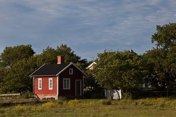 Das rote Fischerhaus