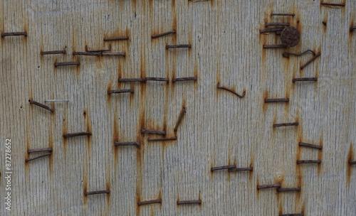 rostige tackern gel auf holzplatte immagini e fotografie royalty free su file. Black Bedroom Furniture Sets. Home Design Ideas