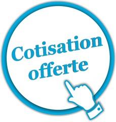 bouton cotisation offerte