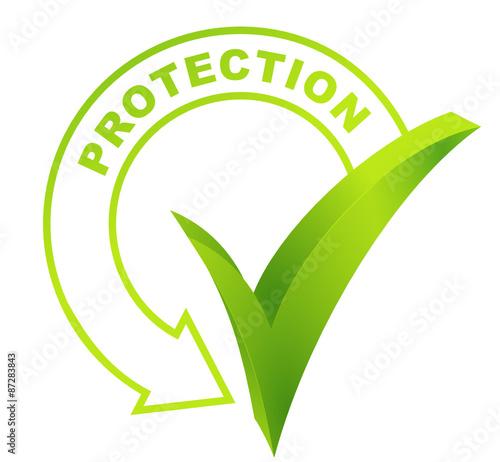 Protection sur symbole valid vert fichier vectoriel - Symbole de protection ...