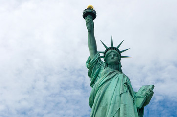 The Statue of Liberty in New York City, United States