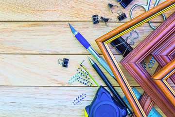 Tools and materials for decoration paintings