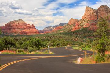 Sedona Arizona in Southwest USA Fotoväggar