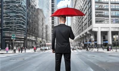 Insurance, Umbrella, Women.