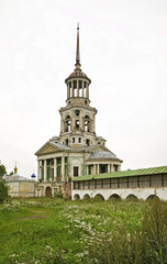 Church of the Savior image in Boris and Gleb Monastery. Torzhok. Russia
