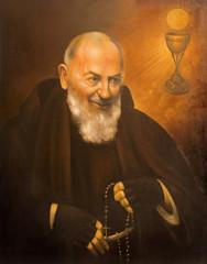 Cordoba - portrait of St. Pater Pio (Father Pio)