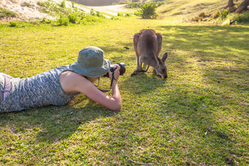 Wildlife Woman Photographer