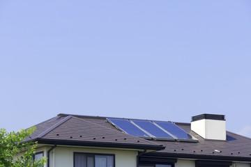 分譲住宅 ソーラーパネル コピースペース