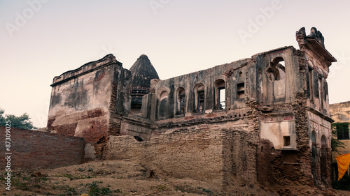 Old rubbish religious building in bithoor kanpur uttar for Religious buildings in india