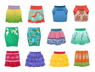 Short summer skirts