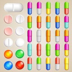 pills set finish