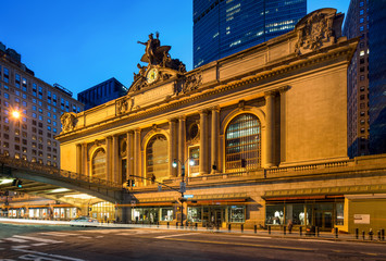 Grand Central Terminal in New York City USA