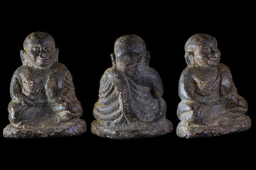 small buddha image used as amulets